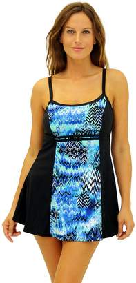 Fit 4 U Fit 4 Ur C's Scattered Elements Blocked Double Bow Dress