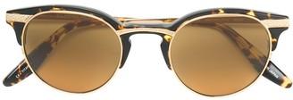 Barton Perreira half frame cat eye sunglasses