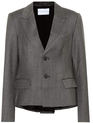 Matthew Adams Dolan Wool-blend blazer