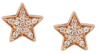 Alinka Stasia diamond star earrings