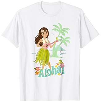 Vintage Hawaiian Hula Girl Shirt Tropical Beach Aloha 4