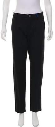 Versace Mid-Rise Straight-Leg Pants w/ Tags