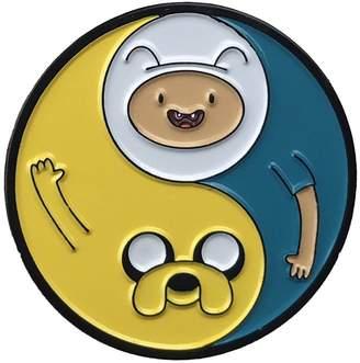 Yin & Yang Balanced Co. Adventure Time Yin Yang Enamel Pin