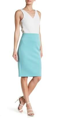 Catherine Malandrino Solid Slim Skirt