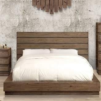 Union Rustic Pisani Panel Bed