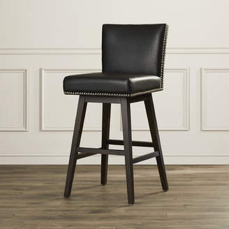 Sunpan Modern West Vintage 30 Swivel Bar Stool