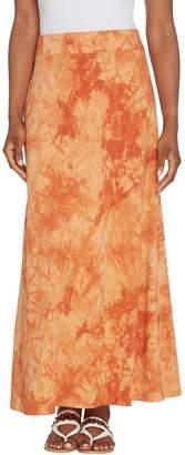 Belle By Kim Gravel Belle by Kim Gravel TripleLuxe Knit Tie Dye Maxi Skirt