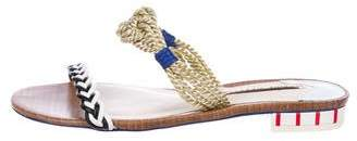 Sophia Webster Braided Slide Sandals