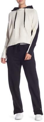 Romeo & Juliet Couture Snap Button Sweatpants