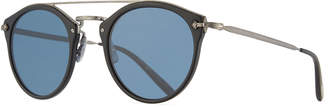 Oliver Peoples Remick Vintage Brow-Bar Sunglasses