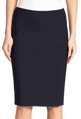 Theory Edition Stretch Wool Pencil Skirt