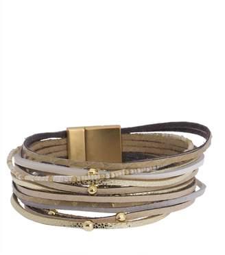 Saachi Ultra Lightweight Bead Detail Multi-Strand Bracelet