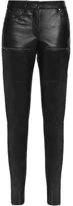 Belstaff Leather Slim-Leg Pants