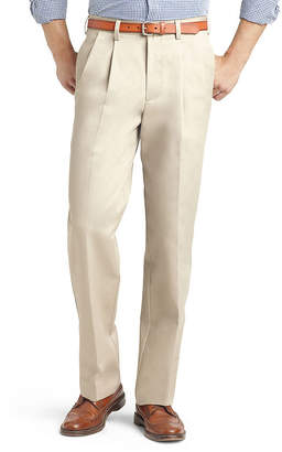 Izod Mens Classic Fit Pleated Pant - Big and Tall