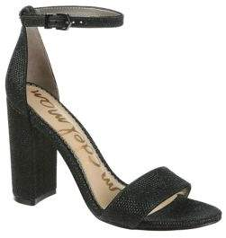 Sam Edelman Orient Express Yaro Leather Ankle-Strap Sandals