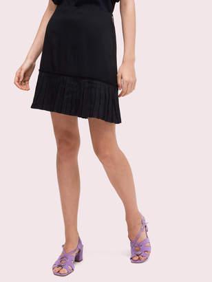 Kate Spade pleated flounce skirt