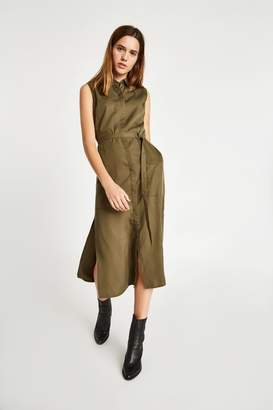Jack Wills Dress- Coldwell Utility Detail Midi