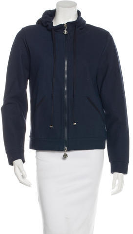MonclerMoncler Lightweight Hooded Jacket