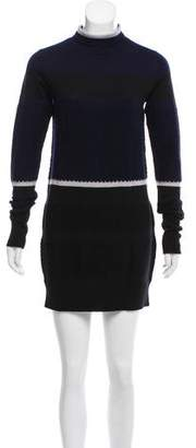 Tim Coppens Wool Sweater Dress