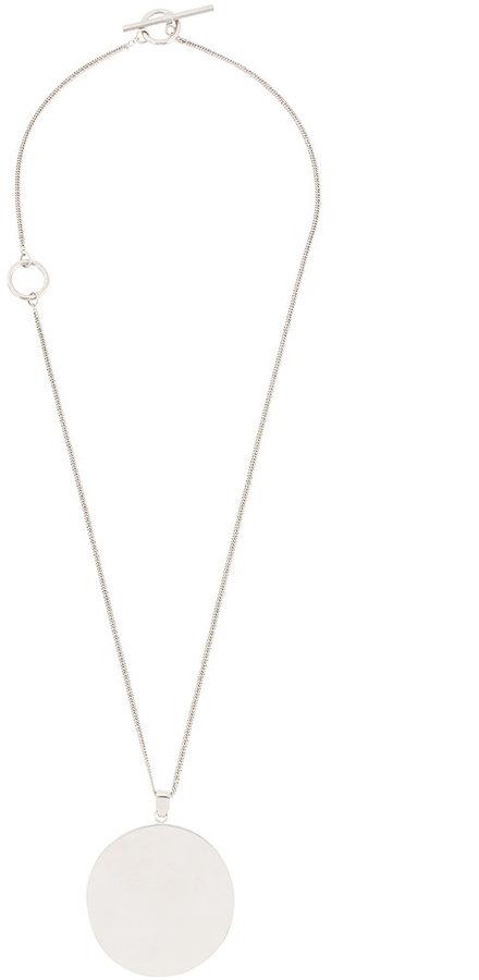 CelineCéline circular pendant necklace