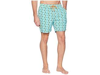 Mr.Swim Mr. Swim Spin Wheel Elastic Printed Swim Trunk