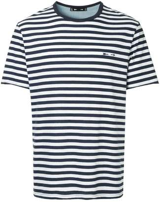 The Upside logo striped T-shirt