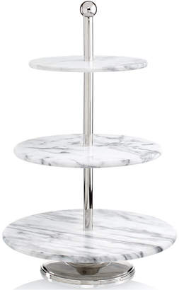 Godinger Serveware La Cucina Marble 3-Tier Server