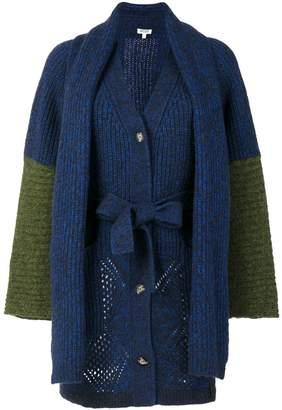 Kenzo knit tied cardigan