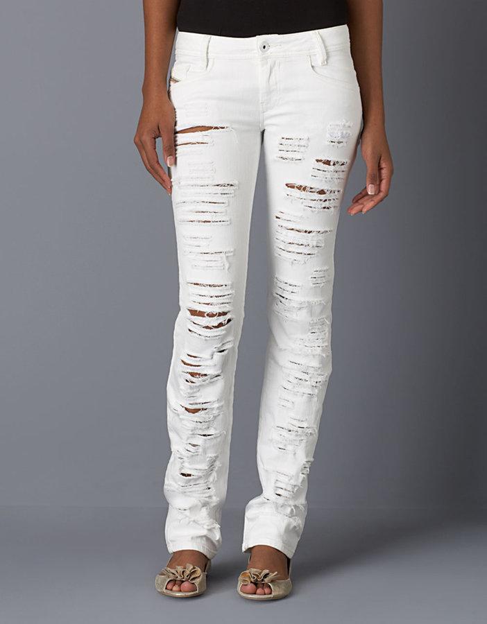Diesel Ripped Skinny Jeans