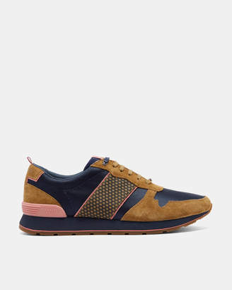 Ted Baker JAYMZ Classic suede trim trainers