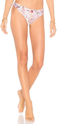 MinkPink Summer Meadow Frill Bikini Bottom