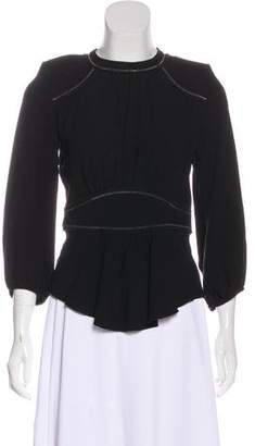 Isabel Marant Structured Knit Blouse