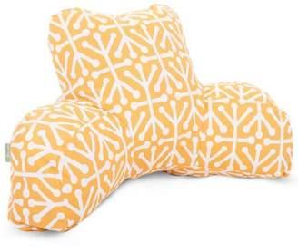 Majestic Home Goods Aruba Reading Pillow, Indoor/Outdoor