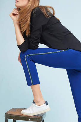 Anthropologie Essentials by The Essential Slim Side-Stripe Trousers