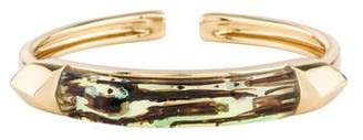 Alexis Bittar Lucite Hinged Cuff