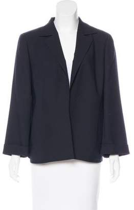 Akris Wool Structured Blazer