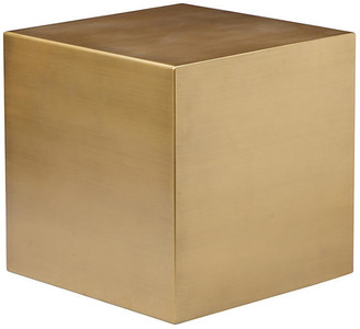 One Kings Lane Spencer Small Side Table - Brushed Brass