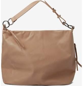 Dorothy Perkins Womens Mushroom Double Ring Hobo Bag
