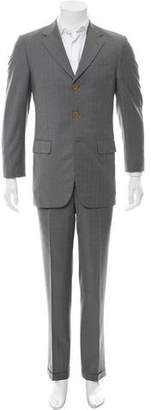 Givenchy Wool Pinstripe Suit