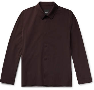 Theory Yonny Nylon-Blend Shirt Jacket