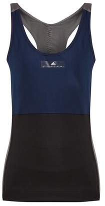 adidas by Stella McCartney Yoga Comfort Tank Top - Womens - Navy Multi