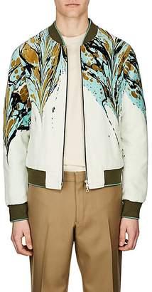 Dries Van Noten Men's Cotton Velvet Bomber Jacket