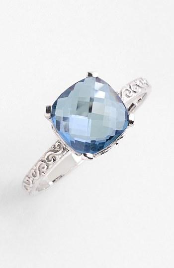 Suzanne Kalan KALAN by Cushion Stone Filigree Ring