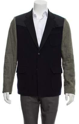 General Idea Wool Paneled Coat