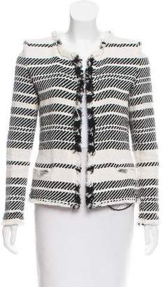 IRO Long Sleeve Knit Blazer