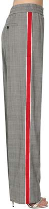 Calvin Klein Light Wool Micro Prince Of Wales Pants
