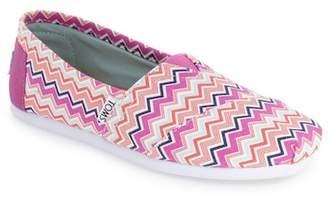 Toms Classic Chevron Slip-On Shoe