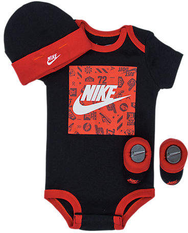 Nike Boys' Infant Futura Block 3-Piece Set
