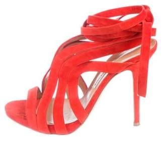 Alexa Wagner Suede Multistrap Sandals