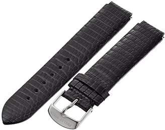 Philip Stein Teslar 1-ZB 18mm Leather Lizard Watch Strap